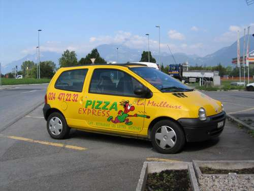 Pizza express à Monthey en Valais